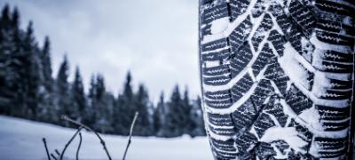 Pneus neige en hiver